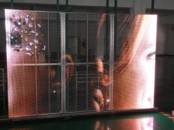 LED Mesh/LED Curtain/LED Strip/LED Glass/Transparent LED Display (P15.63/P12.5/P10.42/P8.93/P6.25/P5.21)
