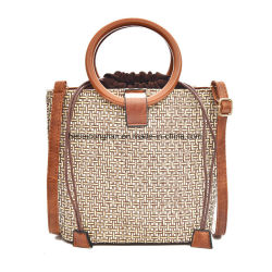 dc7cf240340a Wholesale Designer Plain Straw Handbag Tote Beach Leisure Bag