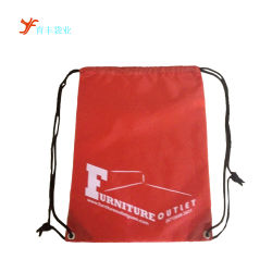 Drawstring Backpack Sports Gym Bags with Zipper and Water Bottle Mesh Pockets