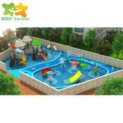 Fiberglass Plastic Pool Water Play Equipment Kids Park Water Slide for Swimming Pool