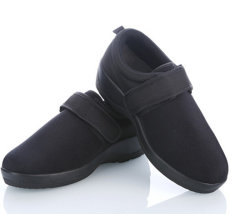 b83d965f50 Men/Women Leather Diabetes Shoes Casual Health Care Shoes Diabetes Care Foot  Support Medical Orthopedic