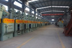 Triple-a Series Pneumatic Injection Sandblasting Room with SGS