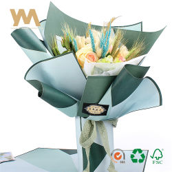 Wholesale flower wrapping paper china wholesale flower wrapping factory price custom logo printed waterproof wrapping paper for flower mightylinksfo