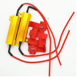 Rx24 Aluminum Shell Resistor 5W10W25W50W100W Power Load Resistor