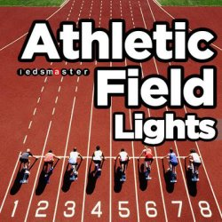 500W LED Running Track Flood Light, Outdoor Athletic Field Lights
