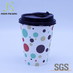 Manufacturer Supply Wholesale Recyclable Cheap Custom Branded Color Printed Disposable Coffee Paper Cup