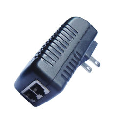 24V Gigabit Passive Poe Injector-Wall Mounted 24V0.75A Poe Adapter
