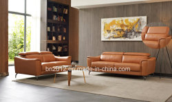Italian Genuine Leather Modern Sofa Furniture