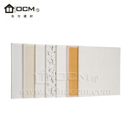 Plush Interior Eco Friendly Wall Decoration MGO Board