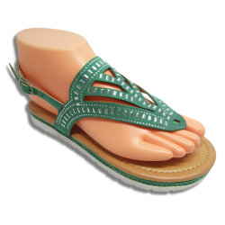 d86ce37126f71 PU Lady Sandal Slipper Woman Shoes