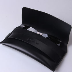 Sinicline Custom Cheap Fashion Sports Sunglasses Case Leather