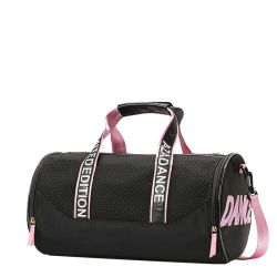 Contrast Colors Mesh Gym Sports Holdall Bag