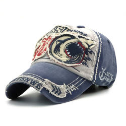 Custom Cotton Embroidery Printing Sports Hats Baseball Cap