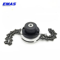 Universal Lawn Mower Chain Trimmer Head Chain Brushcutter For Garden Grass Brush Cutter Tools Spare Parts For Trimmer Tools Part Latest Technology Garden Tools