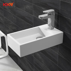 Artificial Stone Corian Solid Surface Bathroom Cloakroom Sink