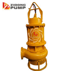 Centrifugal High Chrome Alloy Coal Slurry Waste Water Submersible Pump