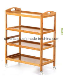 Bamboo Moving Type Dining Car in Household and Hotel