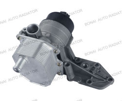 Oil Cooler With Filter And Thermostat Seat For Ford Volvo1704068