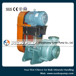 Pump Station Usage Heavy Duty Centrifugal Slurry Pumps Complete System