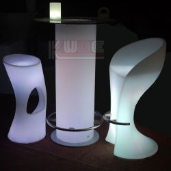 LED Glow Table and Chairs Event Wedding Birthday Party