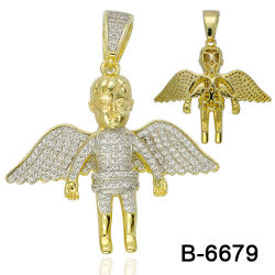 New Design Hip Hop Jewelry Pendant Silver 925 Factory Wholesale