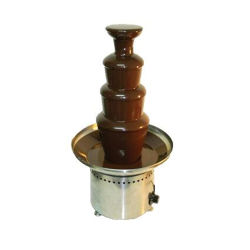 Professional Commercial Use 5 Tiers Stainless Steel Chocolate Waterfall Fountain