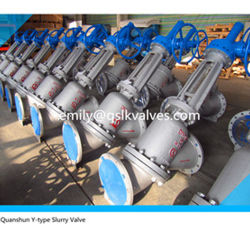 Pneumatic Y Type Slurry Valve