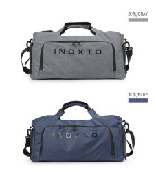 Customize Logo Fashion Sport Carry Duffel Travel Luggage Bag