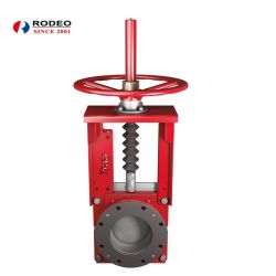 SGS Approved Dn50-Dn350 Slurry Knife Gate Valve