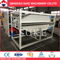 Plastic PVC Artificial Faux Marble Strip|Thick Board PP|PE|PC|ABS Hollow Sheet Single|Twin Conical|Parallel Screw Extruder|Extruding|Extrusion Making Machine