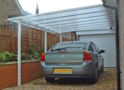 Modern Waterproof Aluminum And Polycarbonate Carport