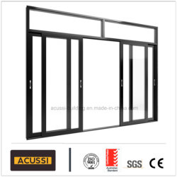 Exceptionnel Aluminium Soundproof Heat Insulation Anti Thief Entrance Sliding Door With  Double Tempered Glass For House