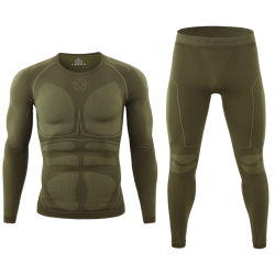 Army Military Outdoor Tactical Thermal Suits Sports Seamless Underwear Sets