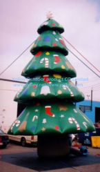 Outdoor Giant Inflatable Decoration Christmas Tree