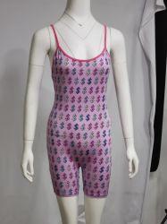 Wholesale Halter Onesies Custom Logo Summer Women Pajamas Sleeveless Onesie Sleepwear