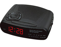 Wholesale ABS LED Radio Clock for Hotel