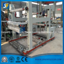 Double Pasting Glue Machine for 5 Ply Corrugated Paperboard Production Line