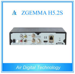 New H. 265 Hevc Satellite Receiver Zgemma H5.2s with Twin DVB-S2 Tuners Digital Satellite Receiver