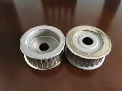 Sintered Powder Metal Water Pump Pulley Qg0115 for Automotive