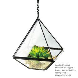 Wholesale Hanging Glass Terrarium (TR-1006B)