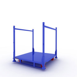 Factory Portable Steel Truck Spare Tyre Stacking Shelf for Chairborne