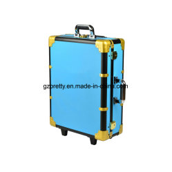 Professional Lighting System Leggs Standing Trolley Beauty Case