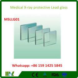 Hospital/ Lab X-ray Protection Lead Glass Anti-Radiation Lead Glass