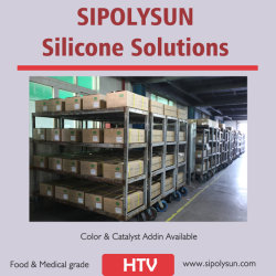 Silicone Rubber Hcr/Htv High Strength Food Grade Silicone Equal with R401
