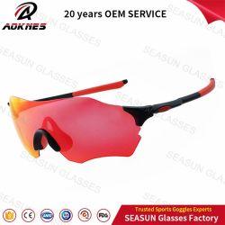 Seasun Customized OEM Fashion Sunglasses Anti Scratch Impact Resist PC Frame Sports Eyewear