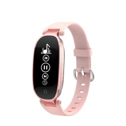 aea6ef72410 Portable Watch Phone with Blood Pressure Monitor OLED Smart Watch Mobile  Phone with GPS Tracker Function