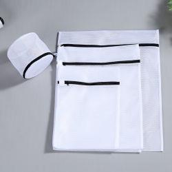 Net Mesh Polyester Laundry Bag for Laundry Room