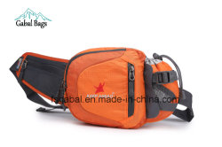 Sports Waist Pouch Hip Bag with Water Bottle Holder