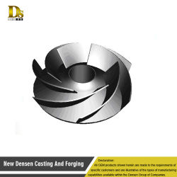 Customlized Investment Casting Parts Casting Impeller for Water Pump