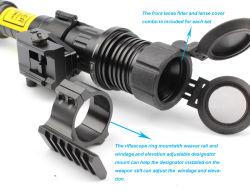 Subzero Rifle Scope Night Vision Solution Hunting Torch Light of Zoomable Long Distance 100MW Green Laser Designator Illuminator /Sight (ES-LS-KS300)